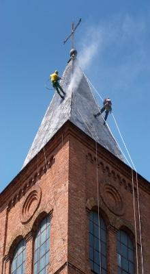 toren dak reinigen